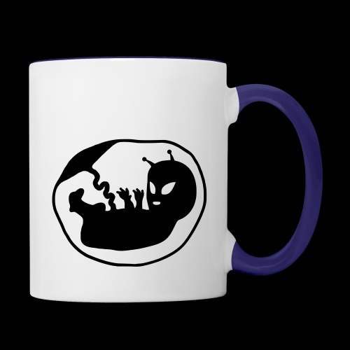 Alien Fetus by bmx3r - Contrast Coffee Mug