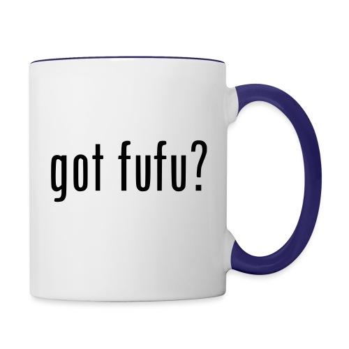 gotfufu-black - Contrast Coffee Mug