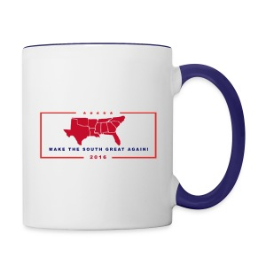 Make the South Great Again! - Contrast Coffee Mug