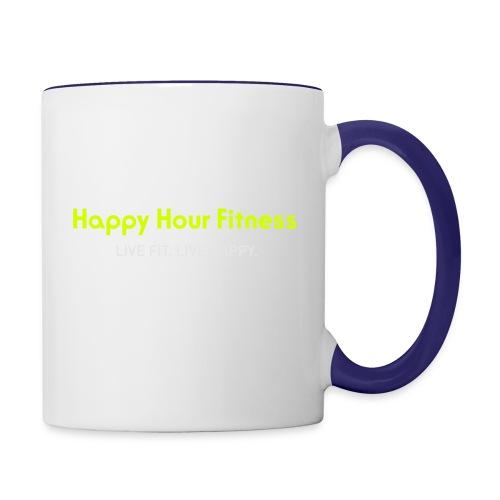HHF_logotypeandtag - Contrast Coffee Mug