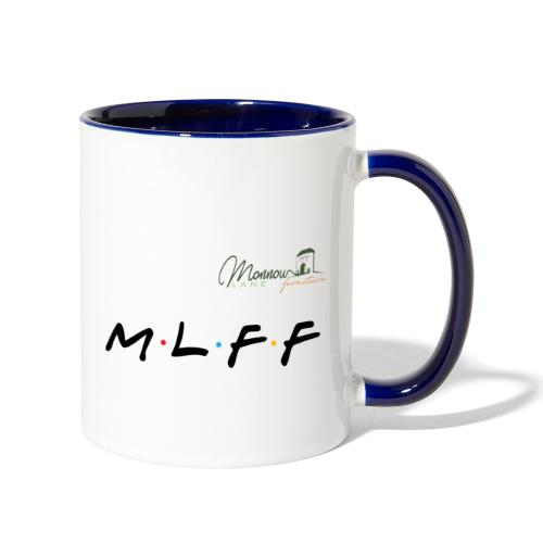MLFF with logo - Contrast Coffee Mug