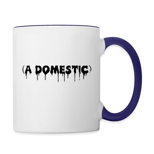 A Domestic - Contrast Coffee Mug
