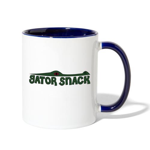 Gator Snack - Contrast Coffee Mug