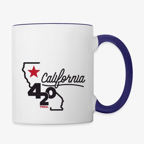 California 420 - Contrast Coffee Mug