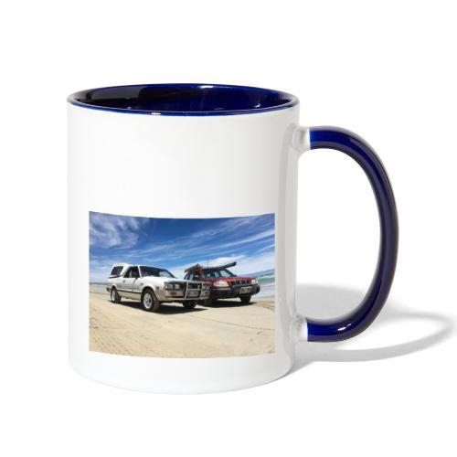 Subaru off roading - Contrast Coffee Mug