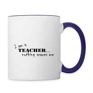 Nothing-Scares-me3 - Contrast Coffee Mug