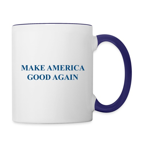 MAGOOA navy blue - Contrast Coffee Mug