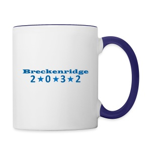 Red 2032 - Contrast Coffee Mug