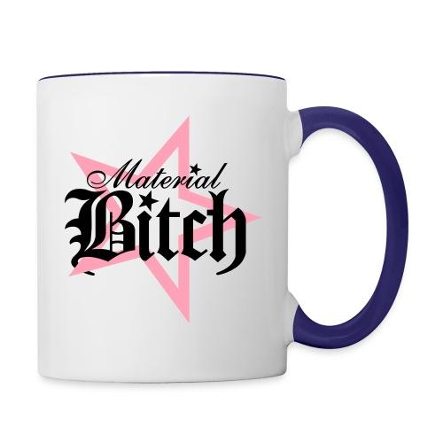 Material Bitch Logo - Contrast Coffee Mug