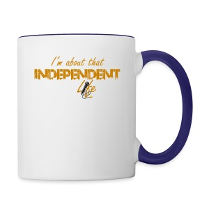 The Independent Life Gear - Contrast Coffee Mug