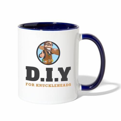 DIY For Knuckleheads Logo. - Contrast Coffee Mug