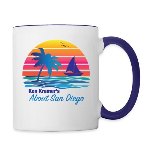 Ken's Exciting Color Logo - Contrast Coffee Mug