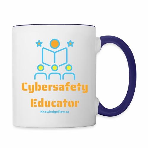 Cybersafety Educator - Contrast Coffee Mug