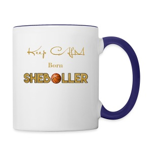 Girl Basketball shirt - Contrast Coffee Mug