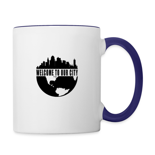 WTOC Logo Black - Contrast Coffee Mug