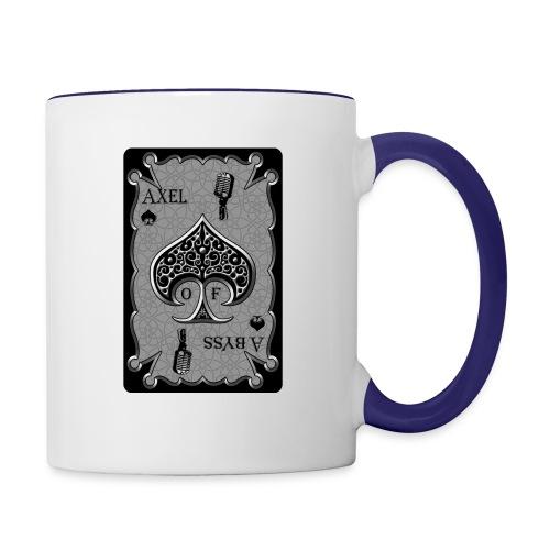 Axelofabyss Spade Card - Contrast Coffee Mug
