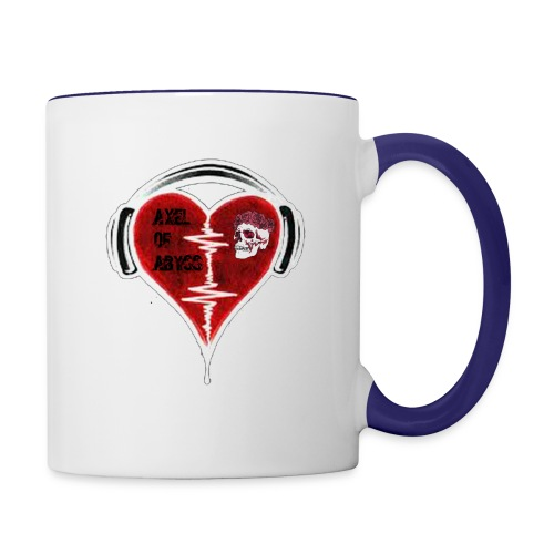 Axelofabyss Music in your heart - Contrast Coffee Mug