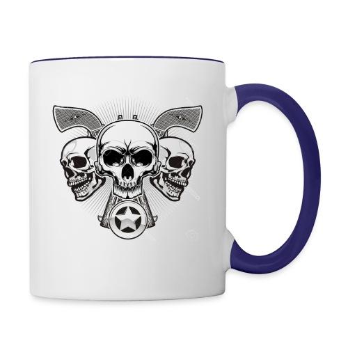 Skulls - Contrast Coffee Mug