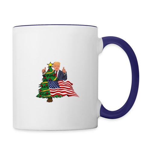 Make America's Christmas Great Again - Contrast Coffee Mug
