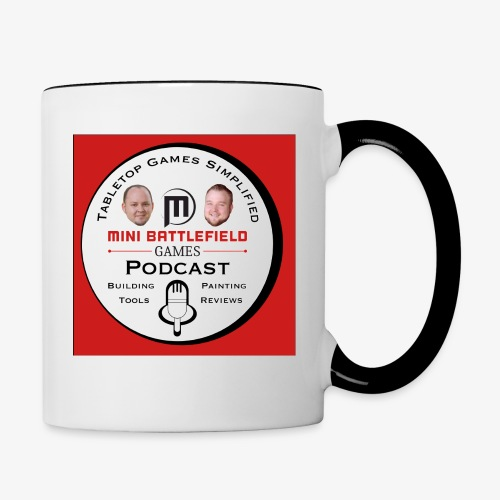 Mini Battlefield Games Podcast - Contrast Coffee Mug