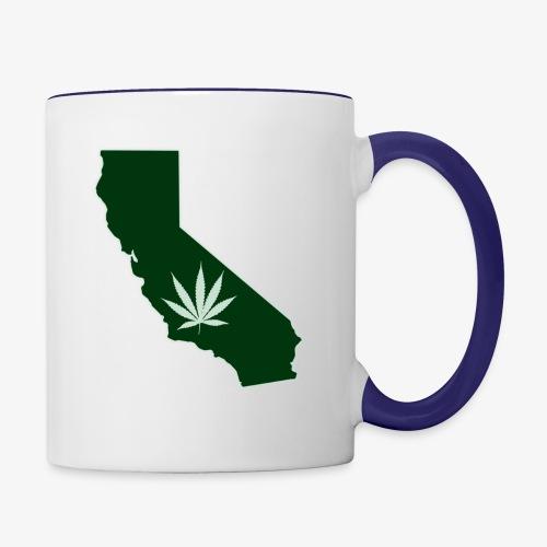 weed - Contrast Coffee Mug