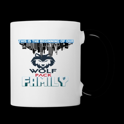 We Are Linked As One Big WolfPack Family - Contrast Coffee Mug