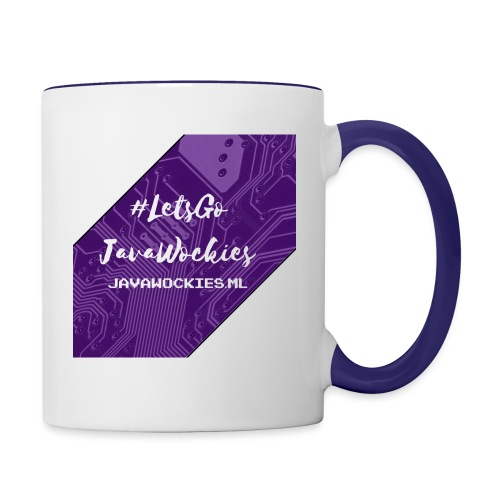 #LetsGoJavaWockies - Contrast Coffee Mug