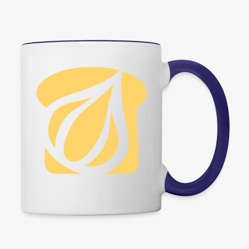 Garlic Toast - Contrast Coffee Mug