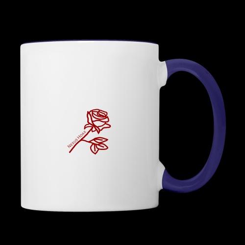 Rose - Contrast Coffee Mug