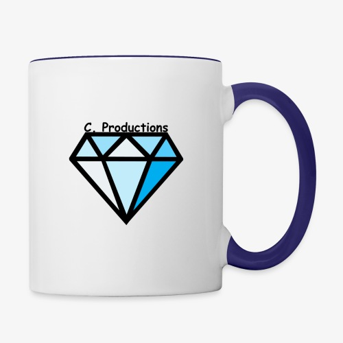 C. Productions Diamond Logo - Contrast Coffee Mug