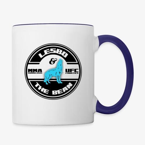 Lesbo and The Bean Logo - Contrast Coffee Mug