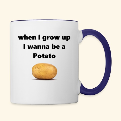 pOtAtO - Contrast Coffee Mug