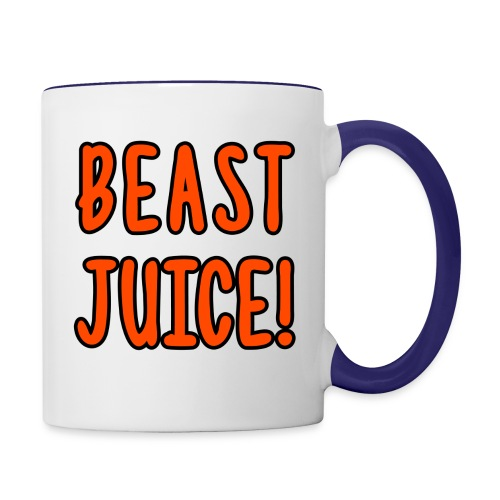 BEAST JUICE! - Contrast Coffee Mug