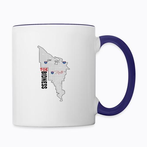 Toe Bidness - Contrast Coffee Mug