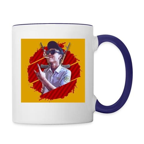 smoke - Contrast Coffee Mug