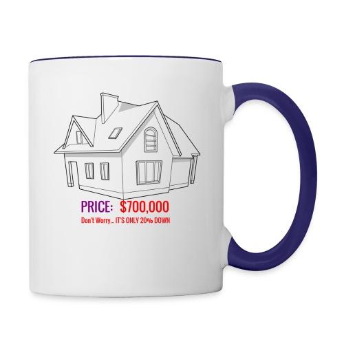 Fannie & Freddie Joke - Contrast Coffee Mug