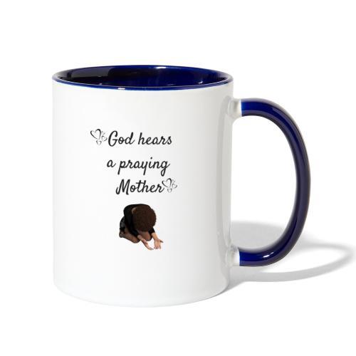 Praying Mother - Contrast Coffee Mug