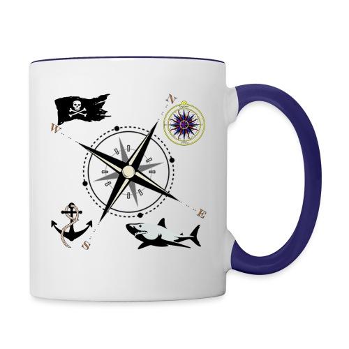 Nautical Designs - Contrast Coffee Mug