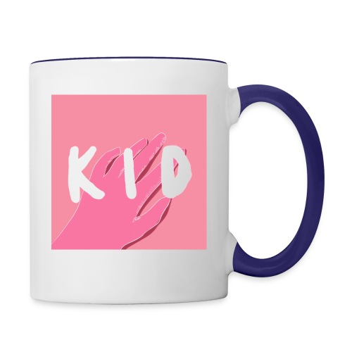 kid cover illustration - Contrast Coffee Mug