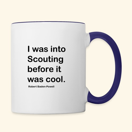 BP Fake cool quote - Contrast Coffee Mug
