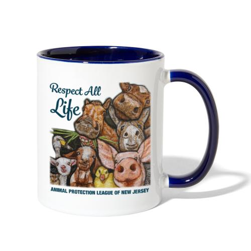 Respect All Life - Contrast Coffee Mug