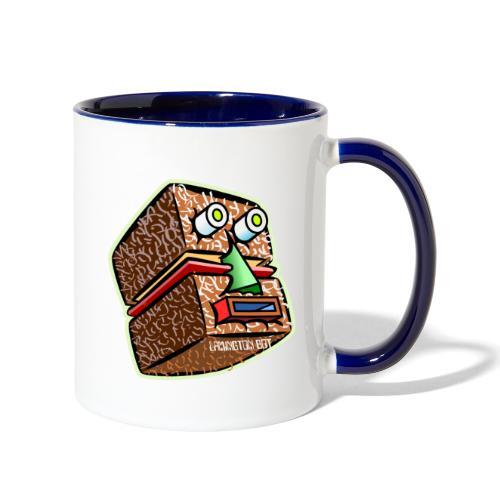 Lamington Bot - Contrast Coffee Mug