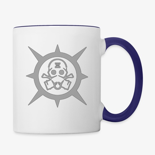 Gear Mask - Contrast Coffee Mug