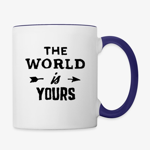 the world - Contrast Coffee Mug
