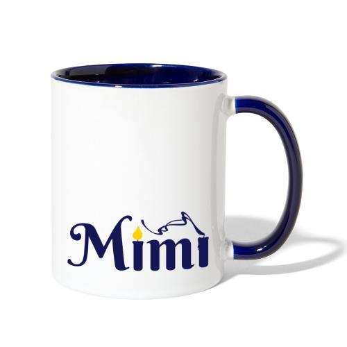 La bohème: Mimì candles - Contrast Coffee Mug