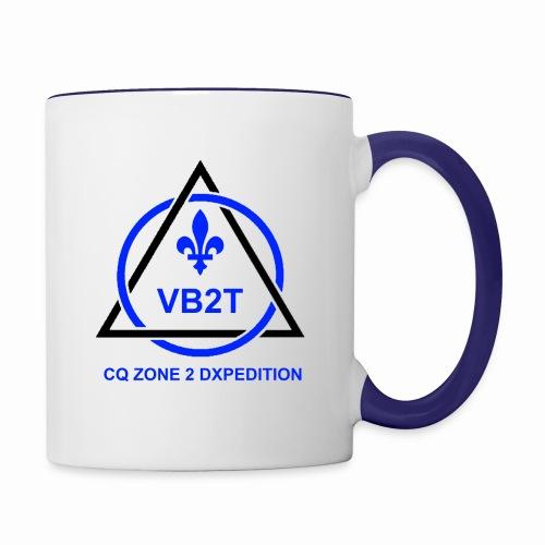 VB2T logo transparent - Contrast Coffee Mug