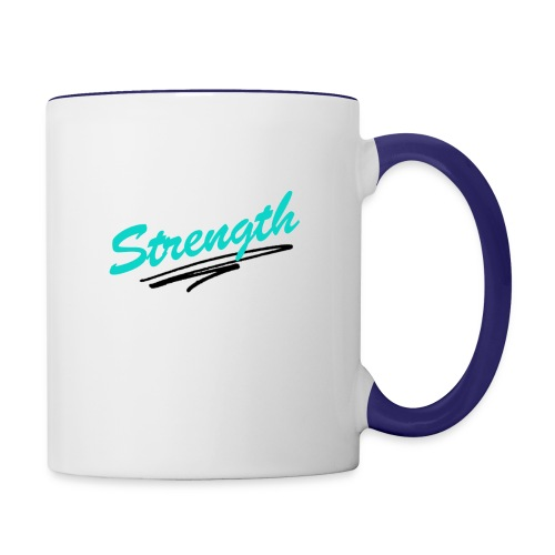 Strength Tank - Contrast Coffee Mug