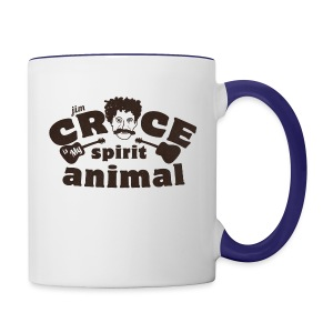 Jim Croce is My Spirit Animal - Contrast Coffee Mug