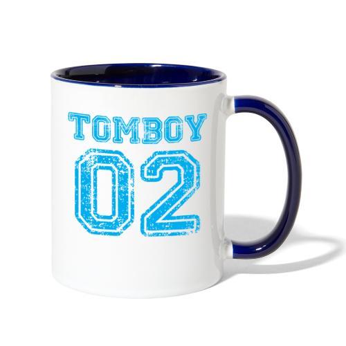Tomboy02 png - Contrast Coffee Mug