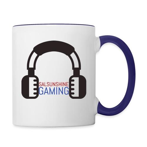 salsunshine gaming logo - Contrast Coffee Mug